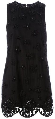 Red Valentino ebellished dress