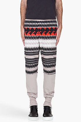 3.1 PHILLIP LIM Taupe French Terry Lounge Pants