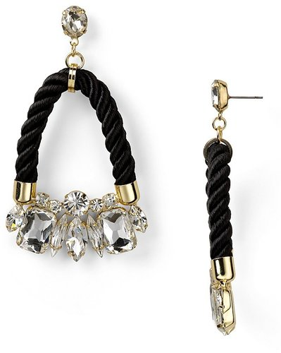 nOir 14K Vermeil Neon Jaipur Crystal Earrings