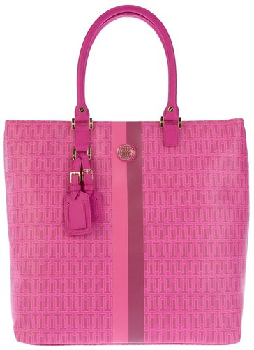 Tory Burch Logo embellished shopper bag
