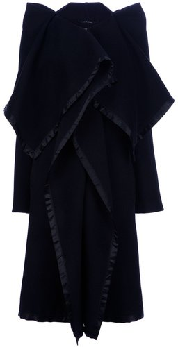 Maison Martin Margiela oversized draped coat