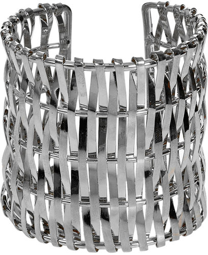 Wide Metal Open Cuff