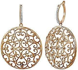 1/6 CT. T.W. Diamond Filigree Earrings