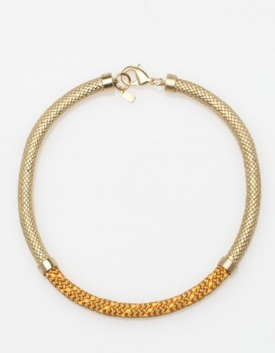 Delaney Choker In Brass