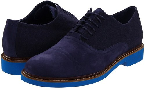 Cole Haan - Air Harrison EVA Oxford (Navy Nubuck/Black) - Footwear