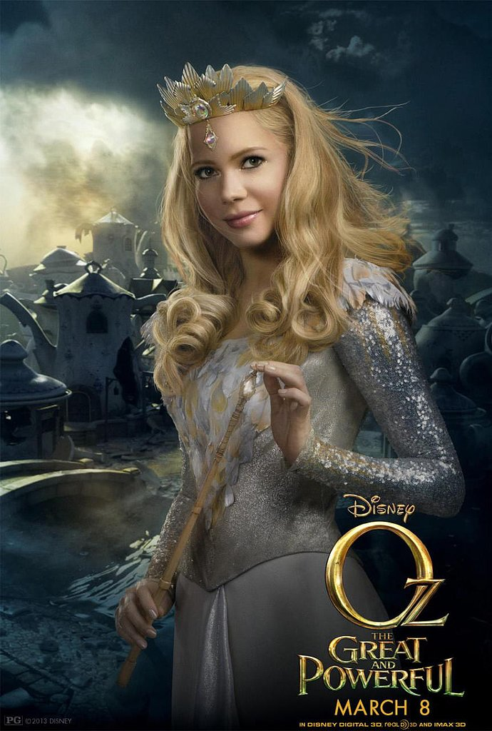 Glinda in Oz the Great and Powerful