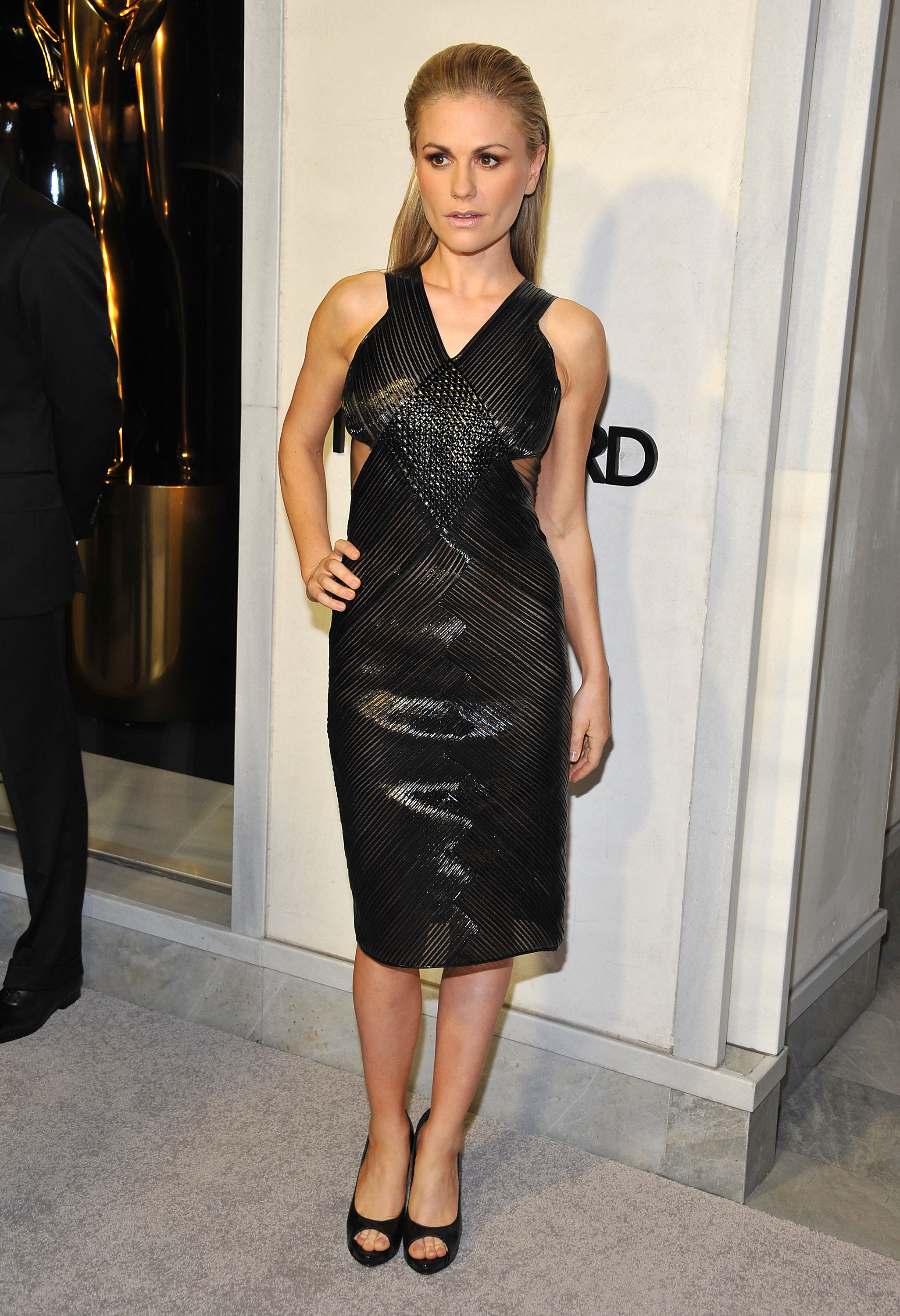 Anna Paquin at the Tom Ford cocktail party in Los Angeles.