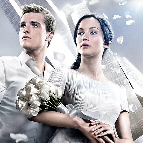Catching Fire Victory Poster With Katniss and Peeta