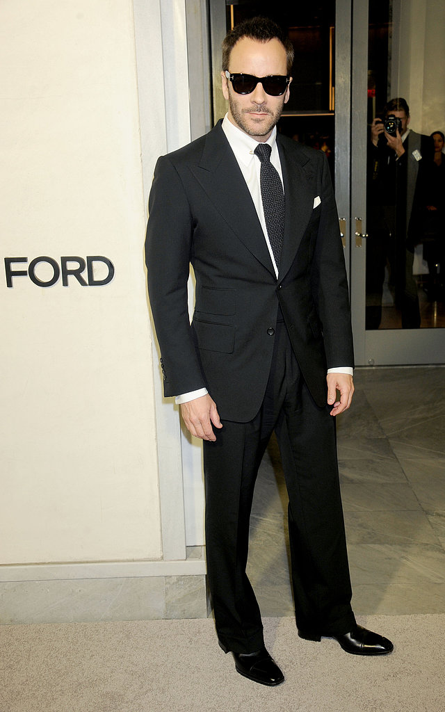Tom Ford wore sunglasses to his pre-Oscars celebration on Thursday night.