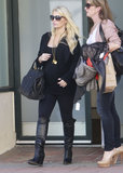Jessica Simpson Steps Out as Eric and Maxwell Have a Day Date