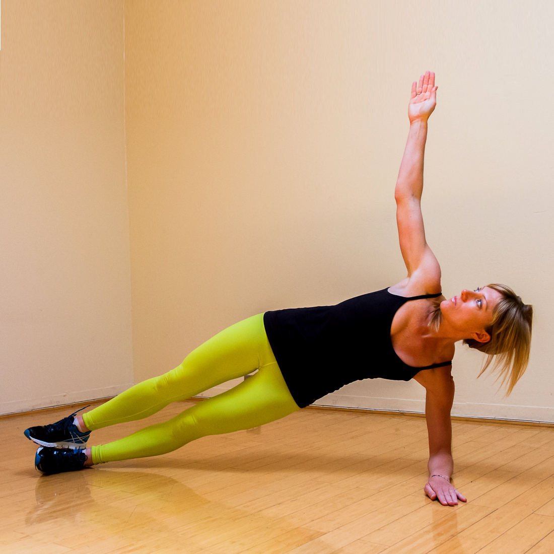 Side Plank Leg Lift