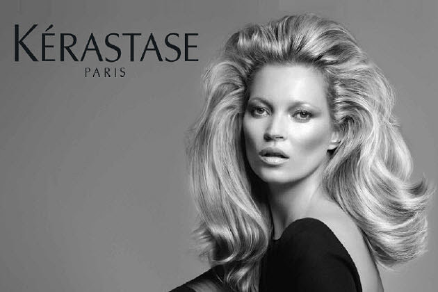 Kate Moss for Kerastase