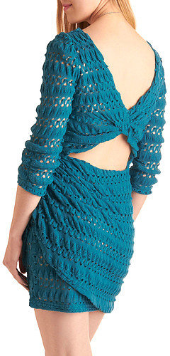 Teal the One Dress