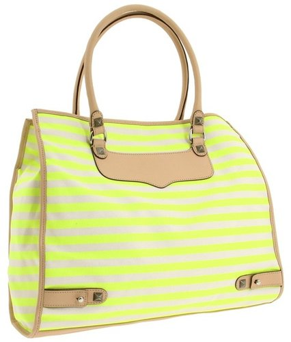 Rebecca Minkoff - Striped Diamond Tote