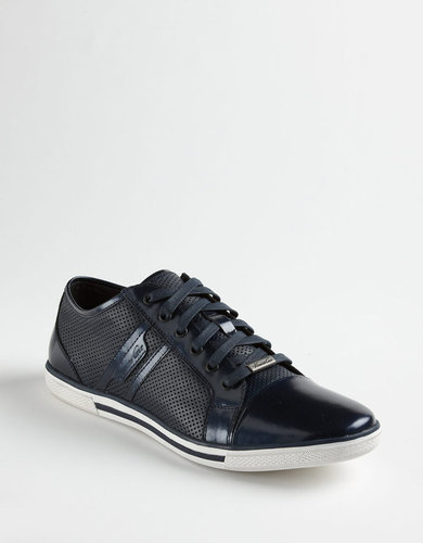 KENNETH COLE NEW YORK Down N Up Leather Sneakers