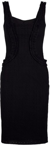 Mcq By Alexander Mcqueen Perforated DRESS