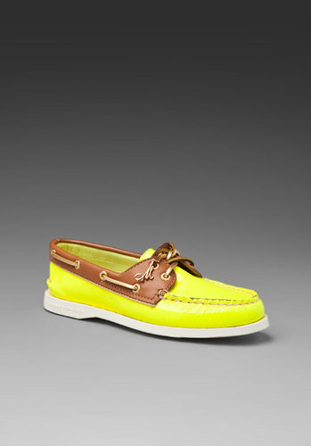 Sperry Top-Sider and Milly 2-Eye Patent Boat Shoe