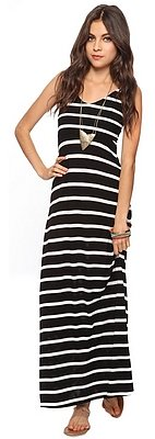 Style deals Striped Maxi Dress