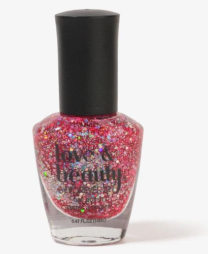 FOREVER 21 Red Shimmer Nail Polish