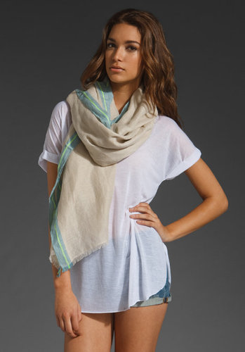 Juicy Couture Oblong Linen Scarf
