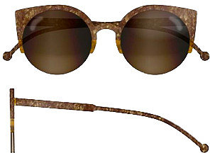 Super Sunglasses Lucia Brown Stone