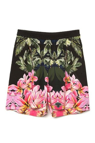 Stella McCartney Hawaiian Print Short