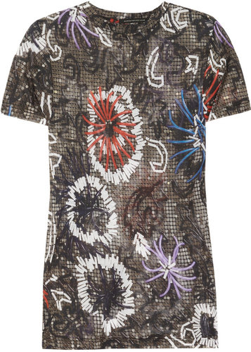 Christopher Kane Printed modal T-shirt