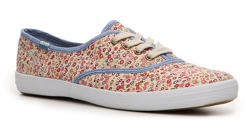 Keds Calico Floral Printed Champion Sneaker