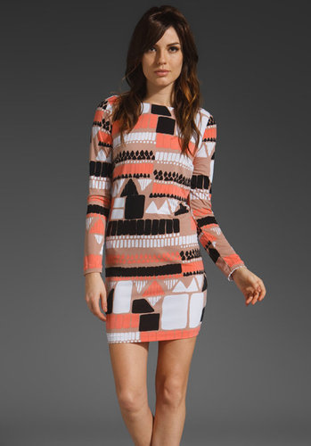 Tibi Geo Shift Dress
