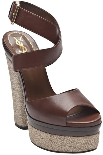 Yves Saint Laurent TALL STRAP SANDAL