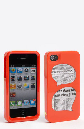 kate spade new york &#039;who&#039;s doing what&#039; iPhone 4 &amp; 4S case