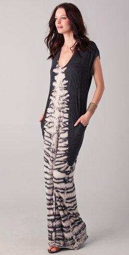 Raquel Allegra Tie Dye Caftan Dress