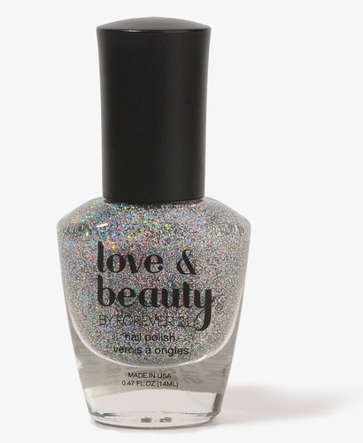 Love 21 Iridescent Silver Nail Polish