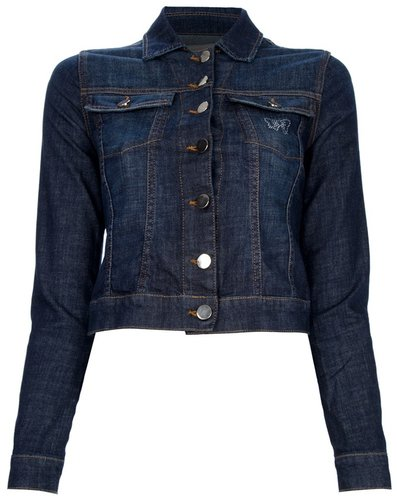 Fix Design cropped denim jacket