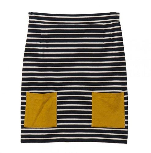 Chinti And Parker Breton Stripe Skirt