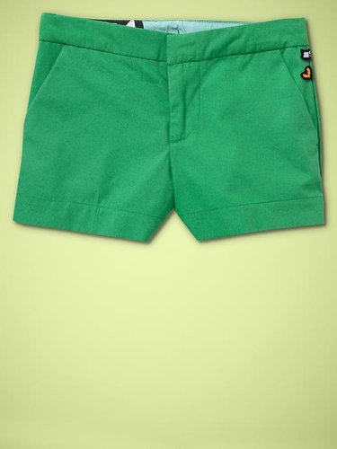 DVF  babyGap solid shorts