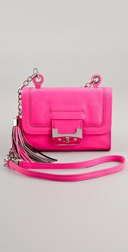 Diane Von Furstenberg Neon Mini Harper Bag