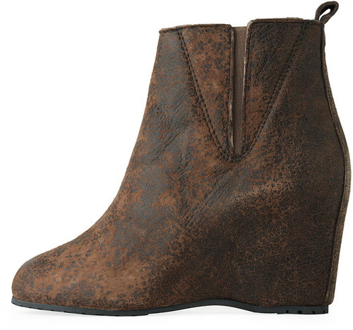 MM6 by Maison Martin Margiela / Crackle Ankle-Boot