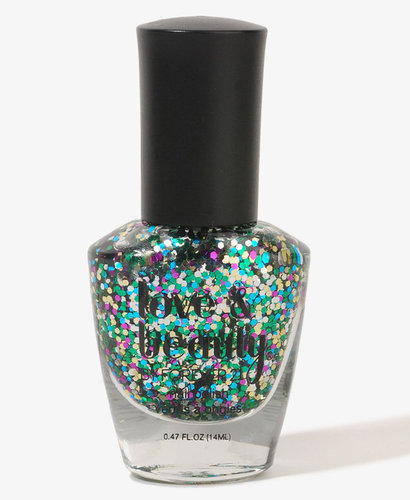 Love 21 Crystal Confetti Nail Polish