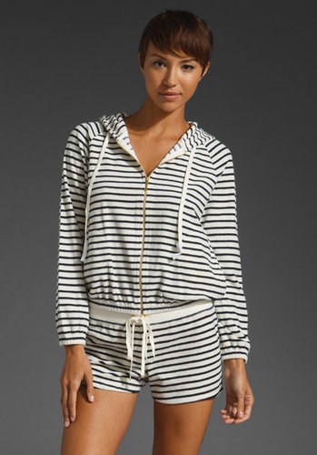 Juicy Couture Sunshine Stripe Terry Jacket