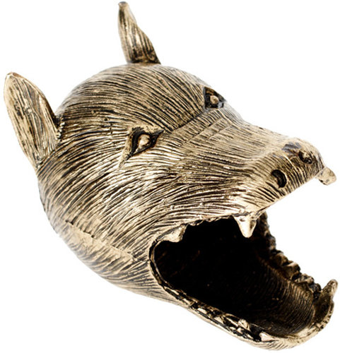 ASOS Howling Wolf Ring