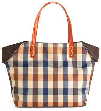 The Perfect Plaid-urday Tote