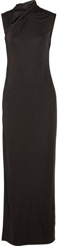 The Row Melfen crepe-jersey maxi dress