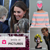 Kate Middleton Talks to Kids, Hearts Hit the Runway, and Art Captures Attention