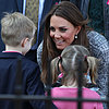 Kate Middleton Speaking to Children | Pictures
