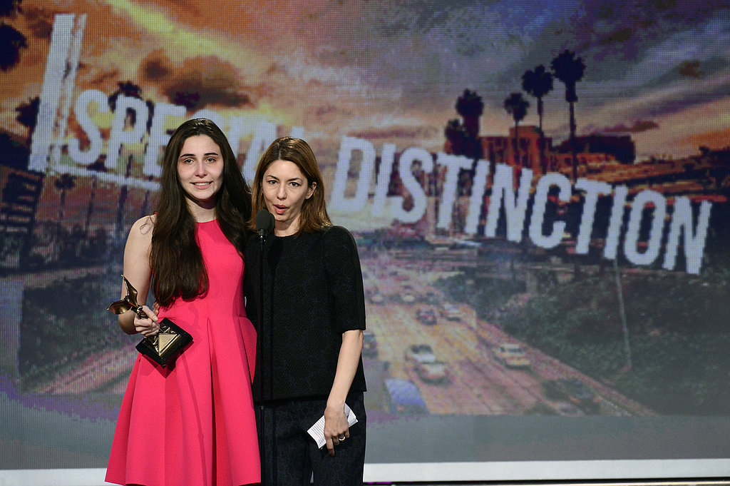 Sofia Coppola and Sophie Savides spoke together on stage.