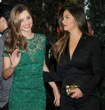 Miranda Kerr caught up with Camila Alves.