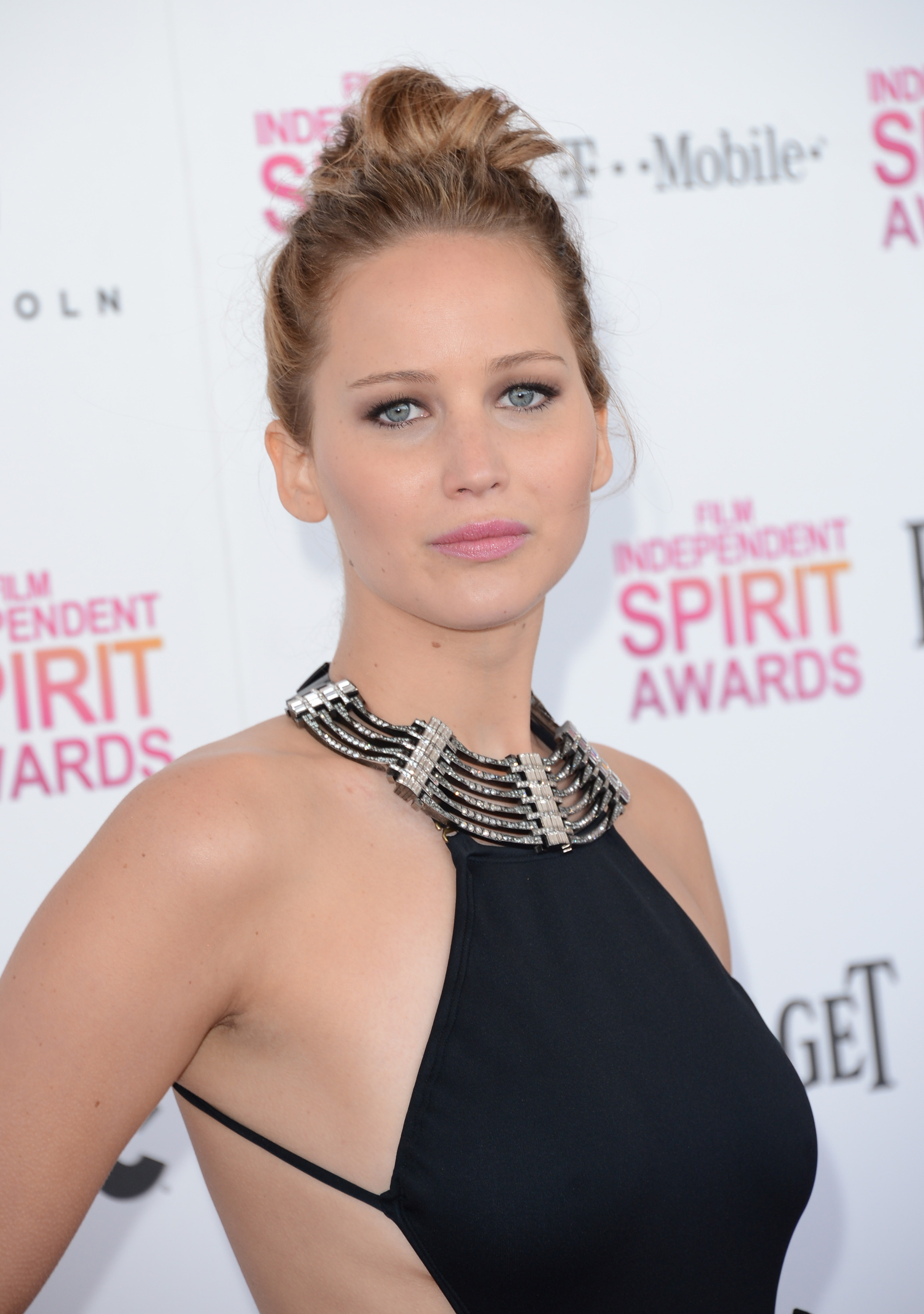 Jennifer Lawrence on the red carpet at the S