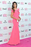 Camila Alves on the red carpet at the Spirit Awards 2013.