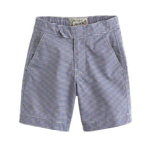 Crewcuts Anchor Blue Stripe Trunks